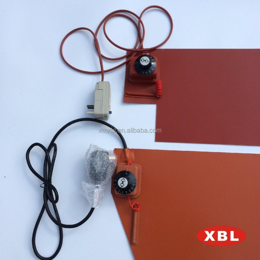 industrie flexible silikongummi heizplatte mit thermostat. Black Bedroom Furniture Sets. Home Design Ideas