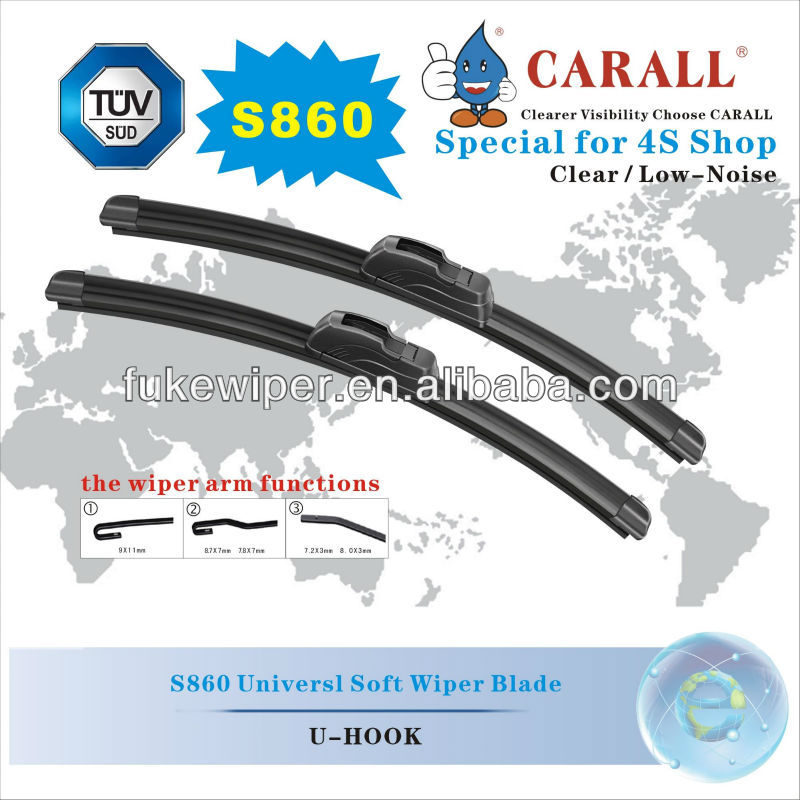 S860 Wiper blade machine , Trico wiper blade , Colored double wiper blade ,