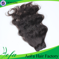 Factory wholesale price 100% natural wave peruvian remy hair