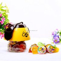 Chinese candy dessert type fruit jelly nata de coco,mini royal jelly, jelly fruits drink