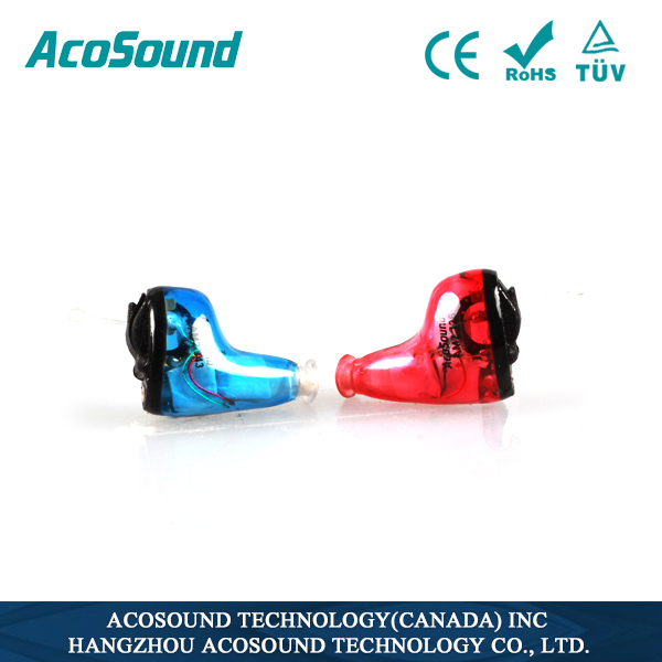 AcoSound 610 Instant Fit hearing loss products for audiometer rehabilitation