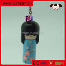 Fashion Hand Paint Voodoo Doll Keychain