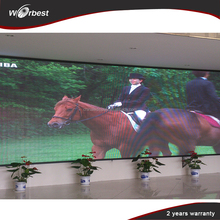 perimeter advertising indoor p4 led display