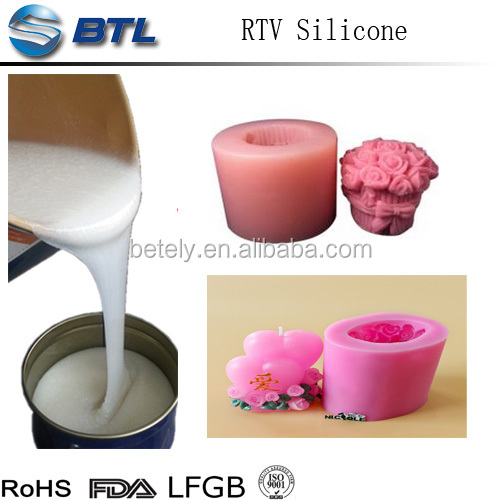 2017 hot sale RTV silicone rubber for candles mold-making