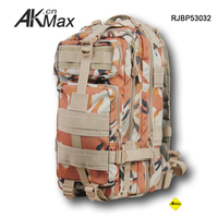 Camouflage military survival backpack kit tool tactical bag