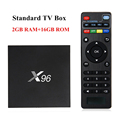 Small christmas gift boxes X96 Android 6.0 4K Worldwide Smart Amlogic S905X 1GB 8GB Quad Core OTT TV Box 4K Smart TV Set-Box Box