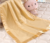 Narural bamboo fiber blanket Factory made