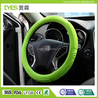 Good quality excellent and cheap OEM design durable silicone car steering wheel cover