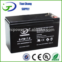 12V7Ah Lead Acid Battery for UPS Toy LED Light Battery