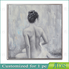 nude women oil painting in 22x22'' size canvas painting