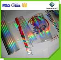 Metallized holographic bopp plastic lamination film for printing and lamination