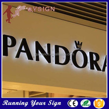 China custom lighting up sign board design samples