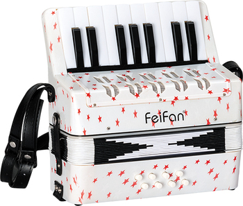 Junior children 17 key 8 bass popular and colorful keyboard accordion for sale
