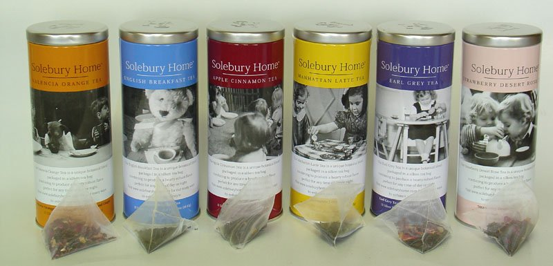 Solebury Tea Collection Blended Botanical Teas