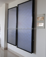 Solar Energy collector, solar hot water panel, flat panel collector