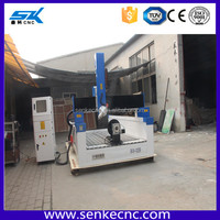Moving working table Japan Servo motor 5 axis cnc router cnc wood carving machine Automatic electric engraver