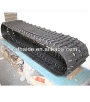 mini excavator rubber track, mini rubber track for digger, rubber tracks for snow vehicles/tactor/crawler