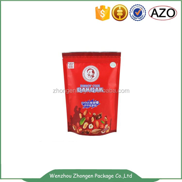 Fruit,meat, fish,snack use and sealable aluminum foil packaging bag