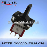 FL6-35 mini 6 pole dpdt toggle switch 3a 250vac