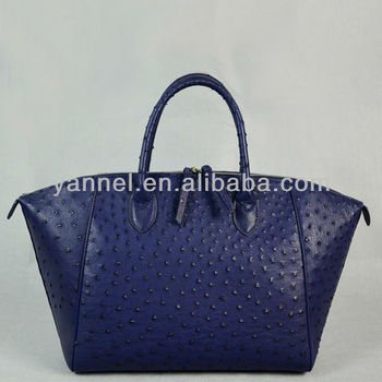 genuine ostrich leather handbag _exotic handbags_ostrich leather bags