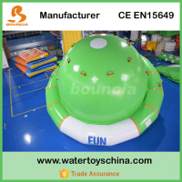 0.9mm PVC Tarpaulin Inflatable Saturn For Water Games