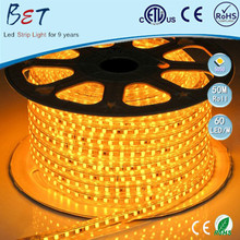 Shenzhen high lumen SMD5050 3528 CE RGB 8mm led strip light 60pcs/m 50meters/roll led light yellow 100 meters stripes