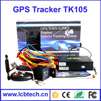 GPS105B TK105B gps car tracker by SMS/GPS/GSM/GPRS Smart locator GPS Vehicle tracker
