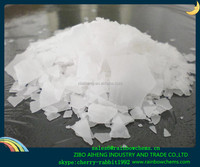 industrial use sodium hydroxide soap flakes shandongn hs code:2815110000 99% Caustic Soda Flakes