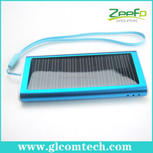 Mini Portable Solar charger for iPhone 4/4S/ 3GS 500mA Mobile Emergency Charger Lighter Shaped