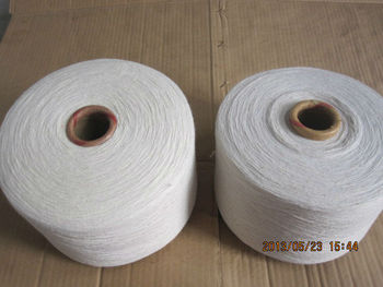 Cheap wholesale natural white hand knitting yarn