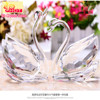 Luxury High Quality Factory Price Crystal Swan Wedding Favors
