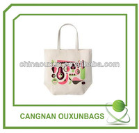 Customized fashion cotton net bag