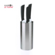 Stainless steel kitchen knife holder block