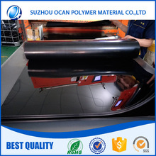 Opaque High Gloss Black Plastic PVC Sheet for Printing