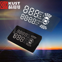 Kust Multi-functional Car HUD For Chevrolet HUD For Cruze Overspeed OBD 2 Car Head Up Display For Malibu HUD