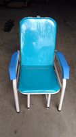 High Quality Factory Directly Used Hospital Working Area Steel Material Chair and Bed for Sale