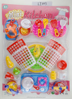 hot sales high quality kids play pretend kitchen toys mini cooking toy set