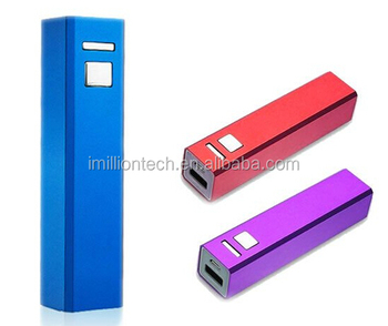 aluminium slim power bank mini power bank 1100mah used mobile phone