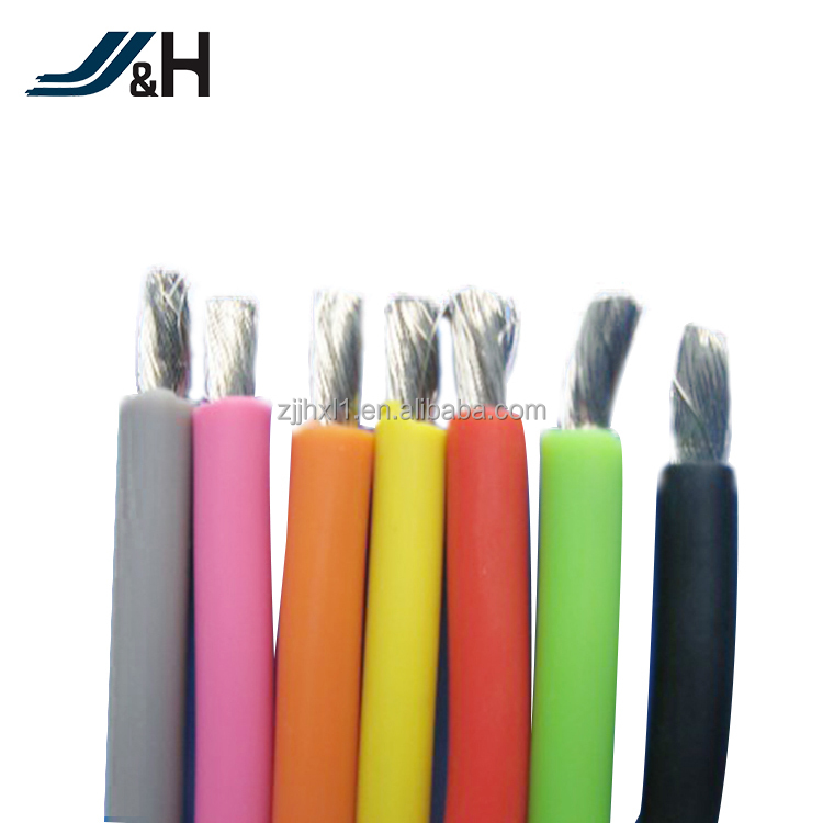 3KV 6KV 10KV JGG Silicone Rubber Insulated High Voltage Motor Lead Wire Cable