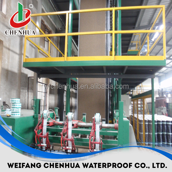 china cheap building material waterproof membrane making machine supplier