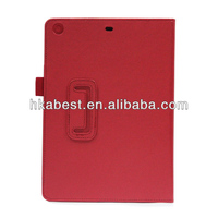 New Product Lichee Pattern For iPad Air Leather Case,Smart Leather Cover For Apple iPad Air With Stand