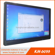 wall mounted touch screen kiosk advertising lcd tv