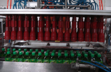 bottling industry bottle gripper /bottle gripping device