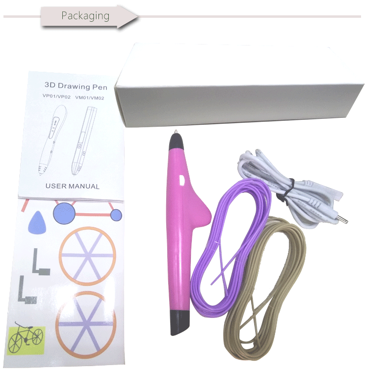 iTenns 3D Printing PEN used Low temperature PCL Filaments DIY toys