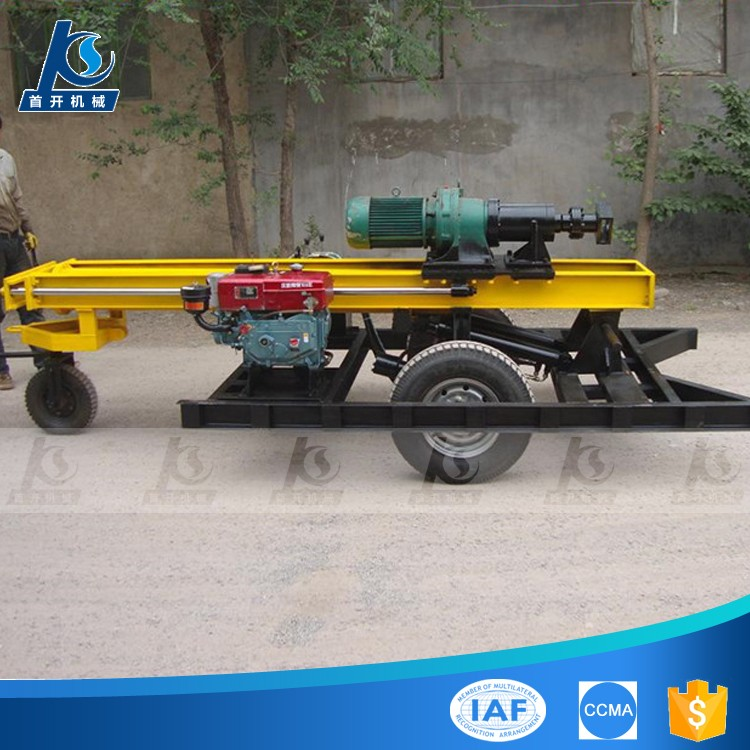 KQZ200D portable water well drilling rig