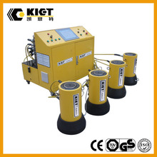 PC-Controlled Hydraulic Synchronous Lifting System Bridge Construction