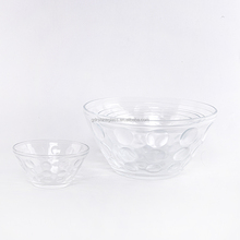 5 pcs glass bowl set for microwave oven kids bowl with plastic lid/kitchen bowl