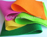 Wholesale die cut nonwoven polyester felt flowers crafts fabric