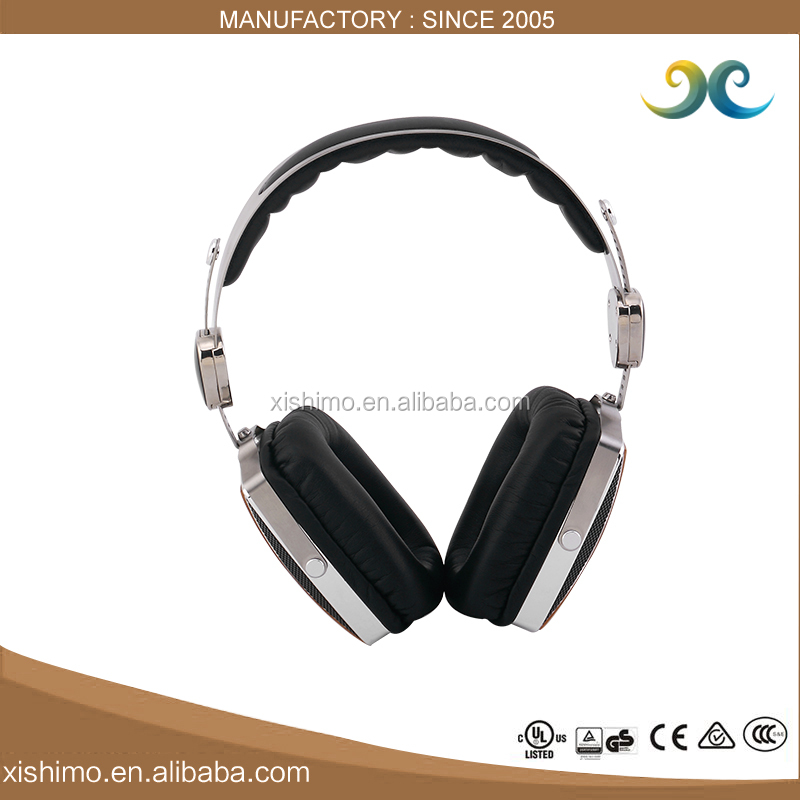 New Design High End Fashion Cheapest Wooden HIFI Stereo Best Gift Headphones