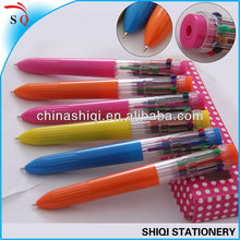 2014 new model fashion 10 color ball pen